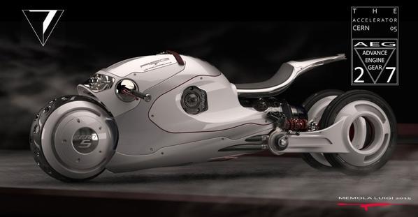 Cern 05 concept, by Luigi Memola