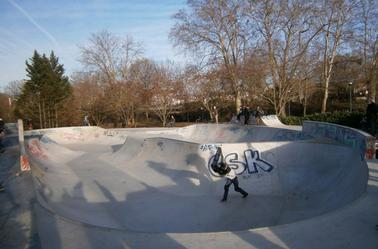 Skatepark de Toulouse, Les ponts jumeaux.