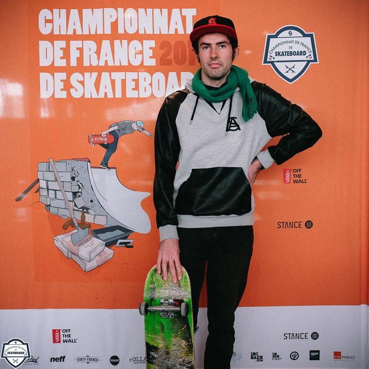 Sur la Route des Championnats de France de skate 2016.