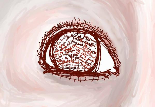 J'aime vraiment dessiner les yeux oui