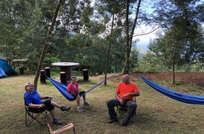 notre campement de ce week-end QUAD