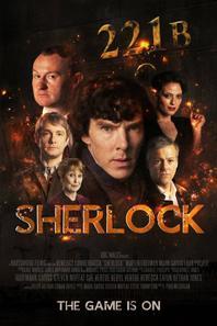 Affiches Sherlock BBC