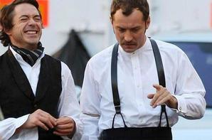 Robert Downey Jr & Jude Law