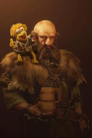 Deux nains du Hobbit : beaucoup d'émotion...