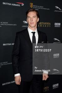 Benedict Cumberbatch BAFTA LA Jaguar Britannia Awards (09/11/13)