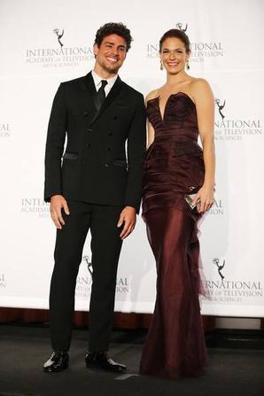 Amanda Righetti - 41st International Emmy Awards