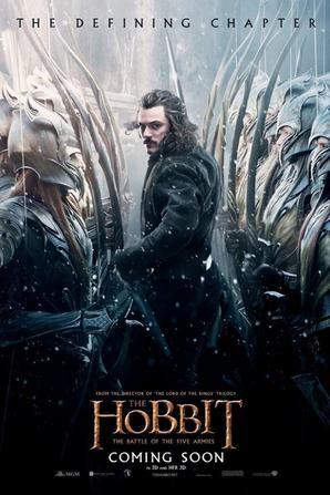 Affiches officielles du Hobbit 3