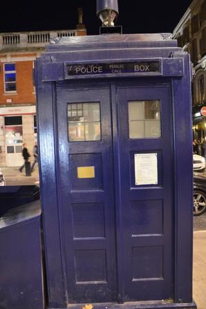 VOYAGE #Londres avec Doctor Who, Iron Man, M&M's et les écureuils