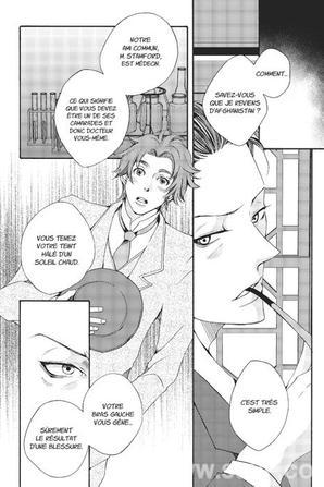 Les Enquêtes de Sherlock Holmes en manga