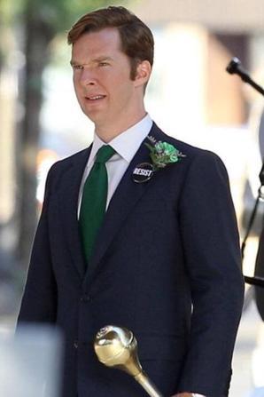 """Joyeuse Saint Patrick (En retard certes) de la part de Benedict sur le tournage du film """"Black Mass"""" à Boston !"""