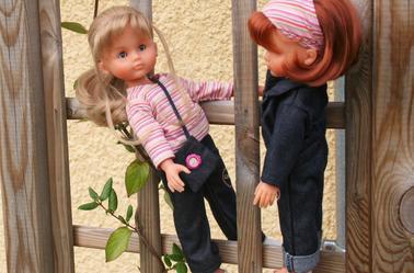 """Camille et Clara """"Tout en jean"""""""