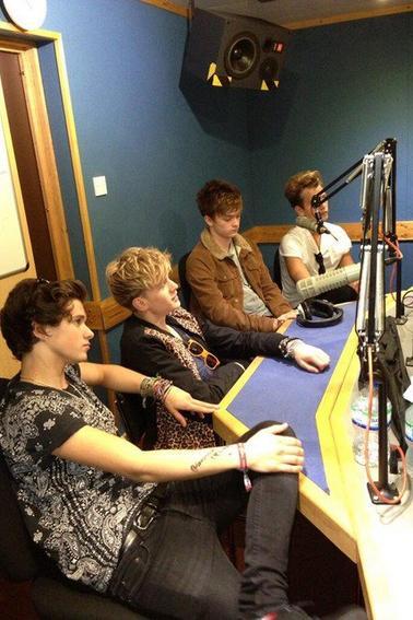 Deuxième partie de la tournée des radios 02.09.13