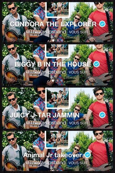 Une soirée avec The Vamps ! (28.09.13)