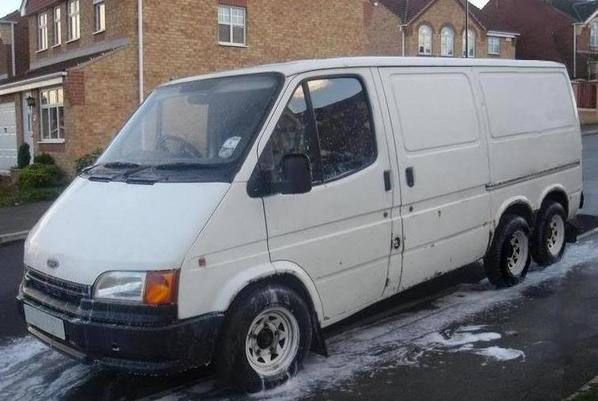 ford transit 6 roues