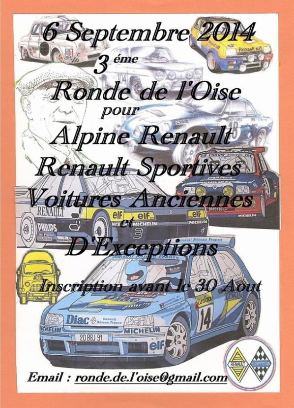 3 éme Ronde de l'Oise le 6 Septembre 2014