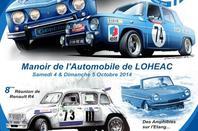Loheac les 50 ans de la Renault 8 Gordini le 4 & 5 Octobre 2014