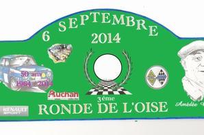 3 éme Ronde de l'Oise 6 Septembre 2014