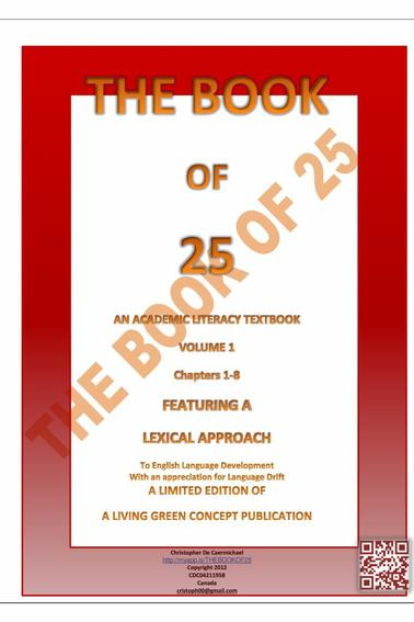 VOLUME 1 - THE BOOK OF 25 /  VOLUME 1 - LE LIVRE DE 25