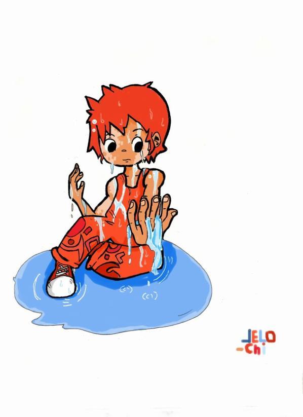 Dessin pour le concours de Pouzin : Sushi!!!!!