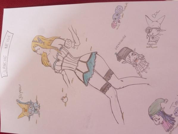 Mes dessins ! 2 ( très moche )