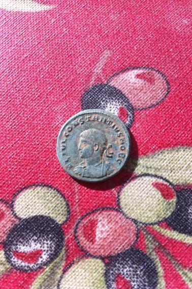 Centenionalis ou nummus de Constance II vers 325 après J-C