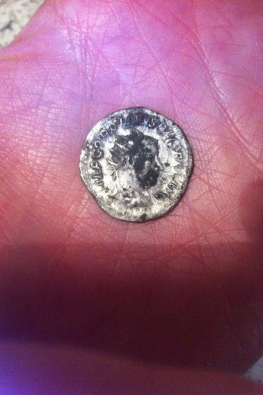 """Antoninien de Gordien III représentant """"la félicité des temps"""" daté de 244 après J-C"""