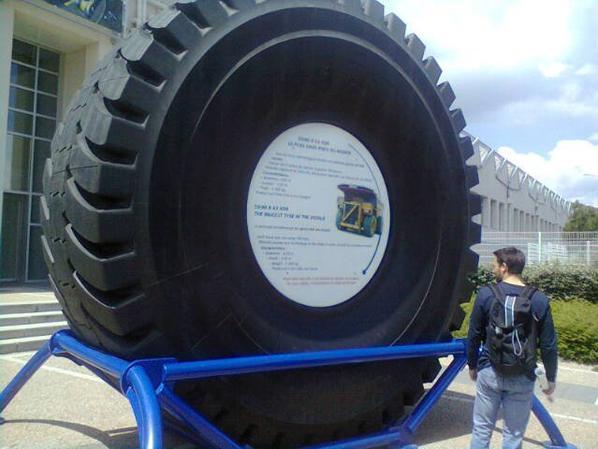 La capitale des pneus au monde.