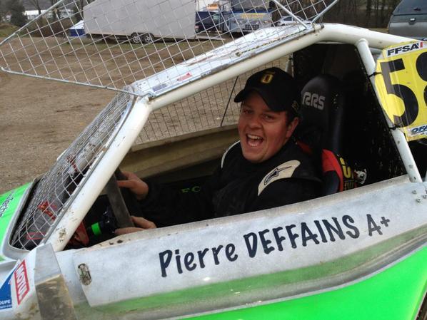 Mauron 2013... Victoire de Pierre Deffains en Maxi-Sprint....