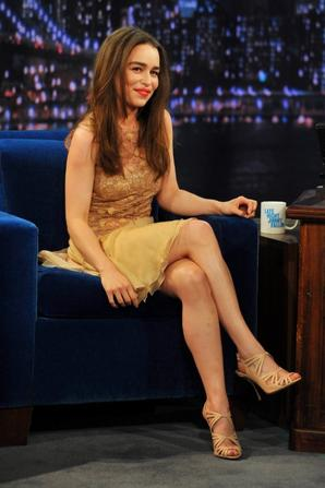 Emilia on Late Night with Jimmy Fallon