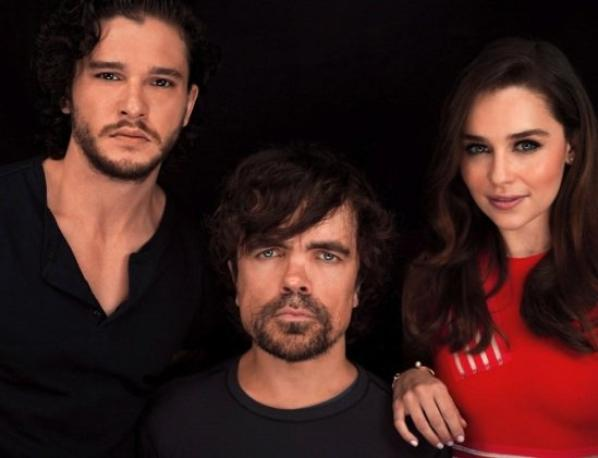 Comic Con 2013 with the cast of Game of Thrones