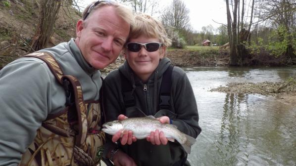 Séjour de pêche en famille en Champagne