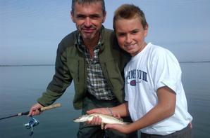 Beau week end de pêche sur le lac du Der en Champagne