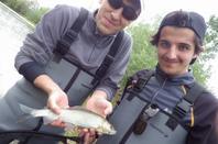 Initiation de la pêche à la mouche en famille