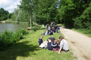 Initiation à l'environnement et à la pêche au Domaine du grand étang de Narcy