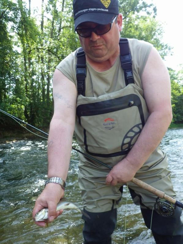 Belles journées de juin pour apprendre à pêcher à la mouche