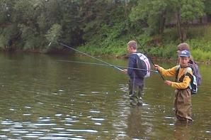 Fin cette colonie de pêche sympatique