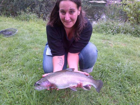 Initiation de la pêche à la mouche pour dame!