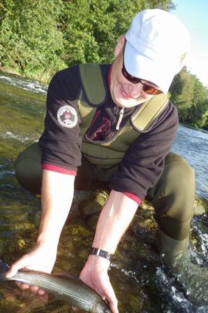 Initiation de la pêche à la mouche deuxième journée
