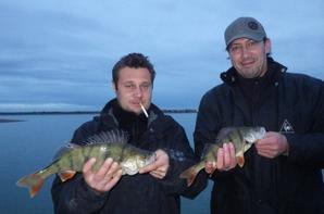 Stage de pêche au lac du Der entre amis