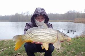 Journée de pêche en novembre au Domaine du grand étang de Narcy