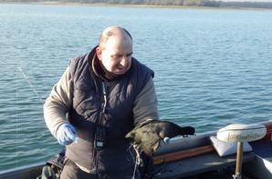 Pêche au lac de la forêt d'Orient (Aube en Champagne)