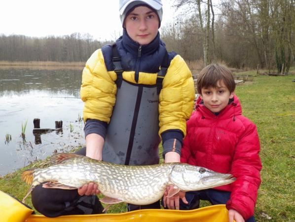 Colonie de pêche de février première partie