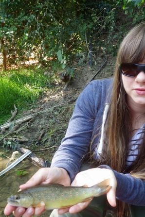 Camp de pêche de la truite jeune et ados en Champagne! Bonjour, bonjour,