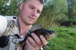 Pêche d'automne à la mouche