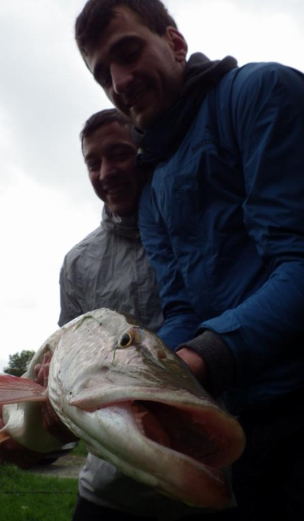 Journée de pêche des carnassiers au Domaine du grand étang.