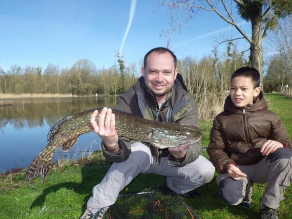 Initiation de la pêche du brochet aux leurres