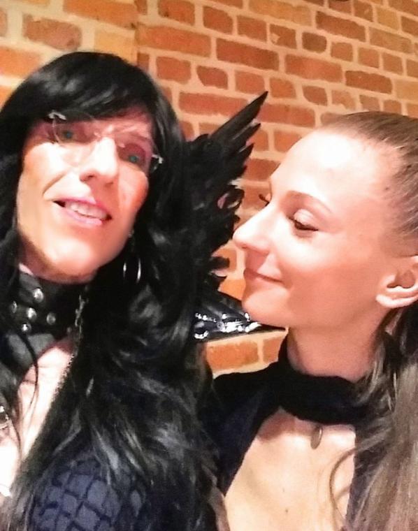 Elue Miss Travestie Belgium 2018 au Fetish Festival