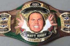 les ceintures de Matt  Hardy
