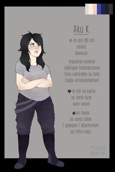 Mes OCs (Original Characters)