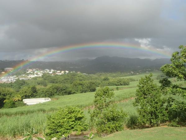 Comme le ciel de Martinique aujourd'hui !!!